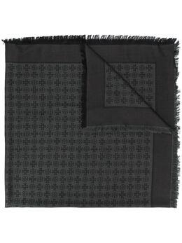 Tory Burch жаккардовый платок с логотипом 45664LOGO
