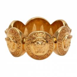 Versace Gold Medusa Tribute Ring DG5G412 DJMT