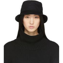Maison Michel Black Jason Bucket Hat 2072022004