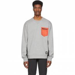 Coach 1941 Grey Patch Pocket Sweatshirt 88679NS5