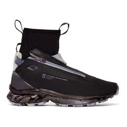 11 By Boris Bidjan Saberi Black Salomon Edition Bamba 3 Sneakers 28 11XS