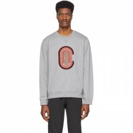 Coach 1941 Grey Logo Sweatshirt 88673HGR