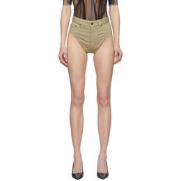 Y / Project Beige Denim Janties Shorts WJEAN21-S18 D05