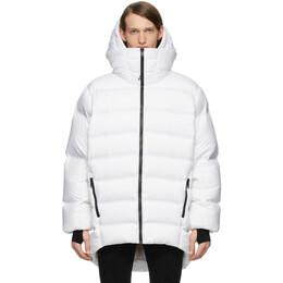 Moncler Genius 6 Moncler 1017 ALYX 9SM White Down Zenit Jacket 42302 - 00 - 54AD3