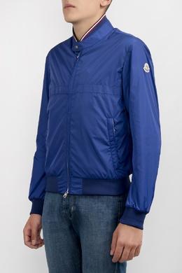 Синяя спортивная куртка Moncler 34182664