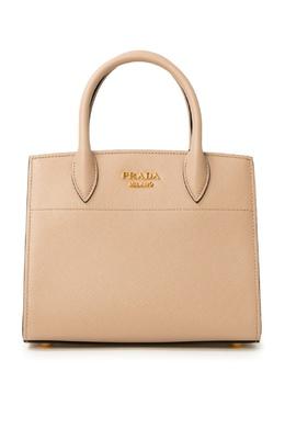 Двухцветная сумка с жестким корпусом Prada 40182649