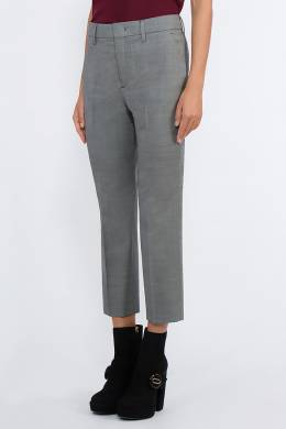 Серые укороченные брюки Prada 40182683