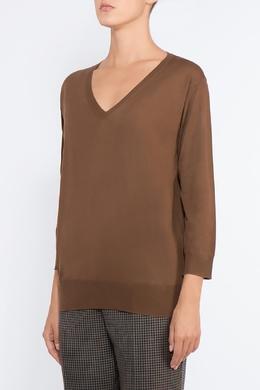 Джемпер коричневого цвета Prada 40182684