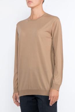 Пуловер песочного цвета Prada 40182688