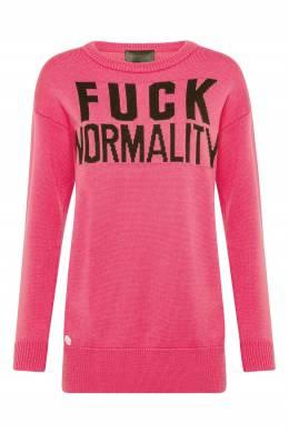 Розовое платье-свитер Philipp Plein 1795183033