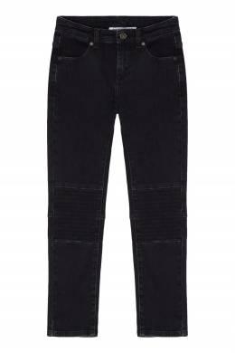 Темно-синие зауженные джинсы Bikkembergs 1487183101