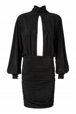 Черное платье с вырезом Philipp Plein 1795182968