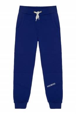 Ярко-синие спортивные брюки Bikkembergs 1487183079