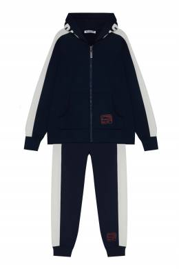 Спортивный костюм синего цвета Bikkembergs 1487183070
