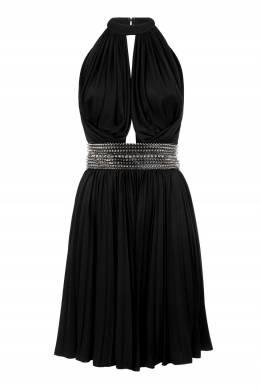 Черное платье с шипами Philipp Plein 1795182920