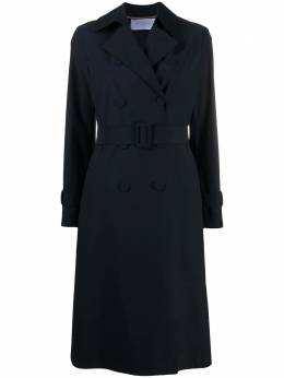 Harris Wharf London double-breasted trench coat A1489PYZ