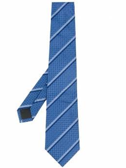 Fendi жаккардовый галстук в диагональную полоску FXC160A3C6