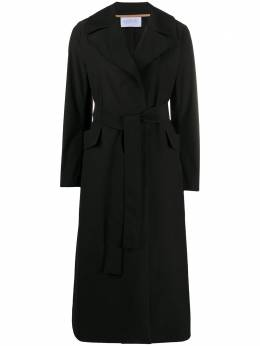 Harris Wharf London belted trench coat A1190PYZ