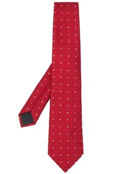 Fendi жаккардовый галстук с логотипом FF FXC160AAQK