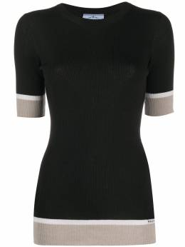 Prada crew neck knitted top P24V0RS201L8P