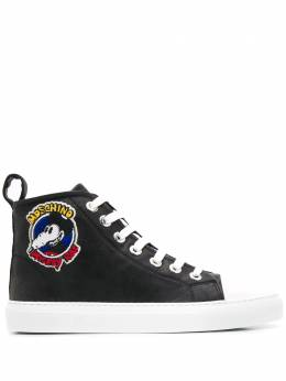 Moschino Mickey Rat hi-top sneakers A60798258