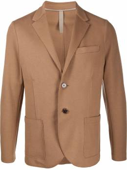 Harris Wharf London однобортный пиджак C8G22PBR