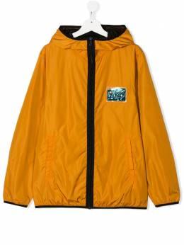 No.21 Kids куртка с капюшоном и нашивкой-логотипом N2148SN0063