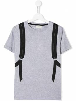 Fendi Kids футболка с принтом Bag Bugs JUI0097AJ