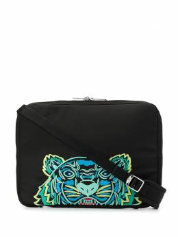 Kenzo tiger-embroidered laptop case FA55SF308F20