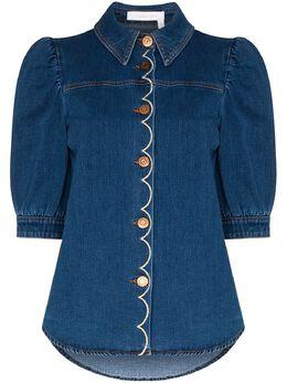 See By Chloe denim blouse CHS20SDH01150