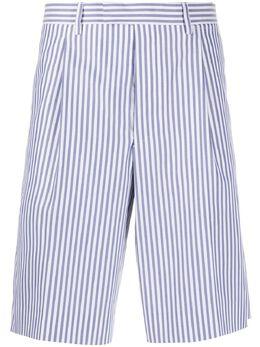 Prada striped chino shorts UP0086S2011V3O