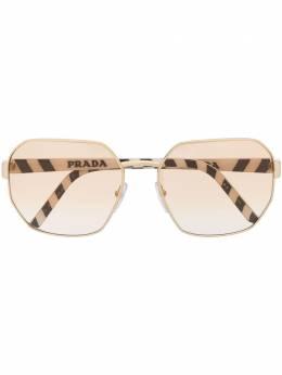 Prada Eyewear oversized-frame logo sunglasses PR54XS