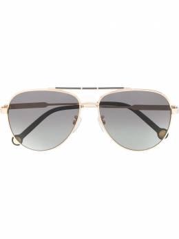 Ch Carolina Herrera 150 aviator-frame sunglasses SHE150