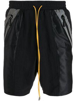 Rhude спортивные шорты с кулиской 04ASR02801