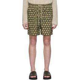 Nanushka Green Doxxi Shorts M_SH_00015