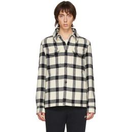 Ami Alexandre Mattiussi Off-White Wool Shirt Jacket P20HOW502.205