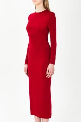 Красное платье из шерсти Alexander Terekhov 74183142