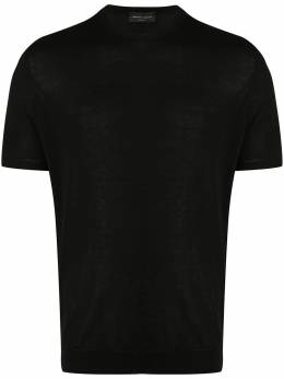Roberto Collina ribbed trim cotton T-shirt RC10021