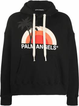 Palm Angels graphic print hoodie PMBB058S206310161088