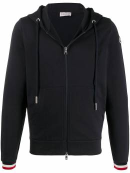 Moncler cotton zip-up hoodie 8G74200V8007