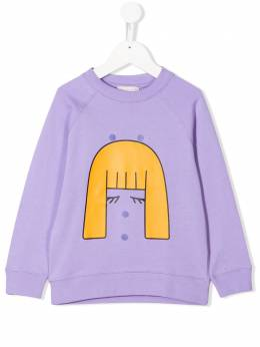 Stella McCartney Kids girl patches sweatshirt 588675SOJ23