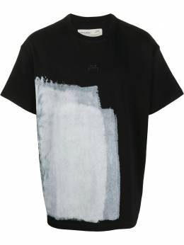 A-Cold-Wall* painted print T-shirt MTS007WHLB