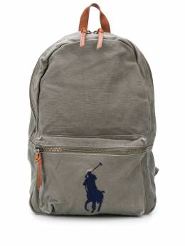 Polo Ralph Lauren embroidered logo backpack 405769875