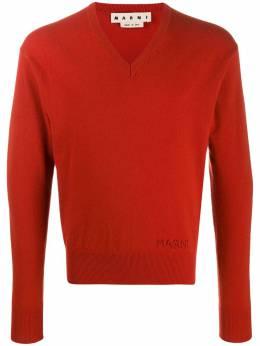 Marni свитер с V-образным вырезом CVMG0039A0S17319