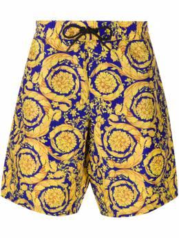 Versace шорты с принтом Baroque ABU05021A233170