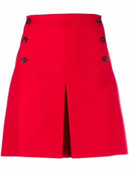 Mulberry side buttoned flared shorts MYWQ301127Y450400