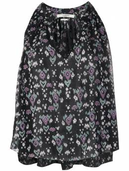 Isabel Marant Etoile блузка Ryson с геометричным принтом HT169320P029E