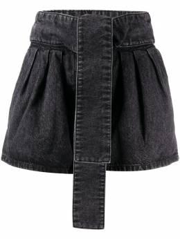 Iro high-waisted denim shorts 20SWP300BER