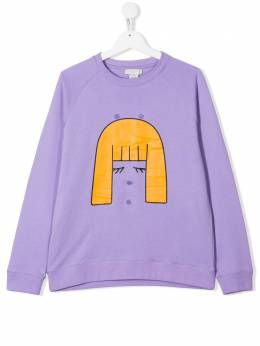Stella McCartney Kids TEEN ice cream girl sweatshirt 588675SOJ23
