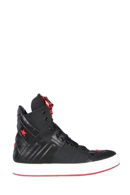 Черные кожаные ботинки с декором Philipp Plein 1795182503